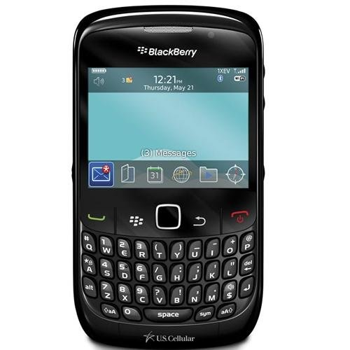 BlackBerry Curve 8530 Smartphone (Black) for US Cellular Wireless Network with No Contract (Good Condition)