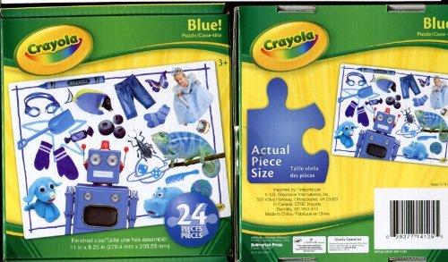 Crayola Puzzle: Blue! - 24 Piece - 1