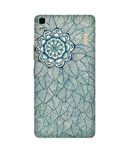 Flower And Lead Doodle Lenovo K3 Note Case