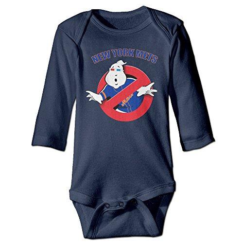 NINJOE NewBorn New York Mets Long Sleeve Bodysuit Outfits (Wimpy Adult Costume)