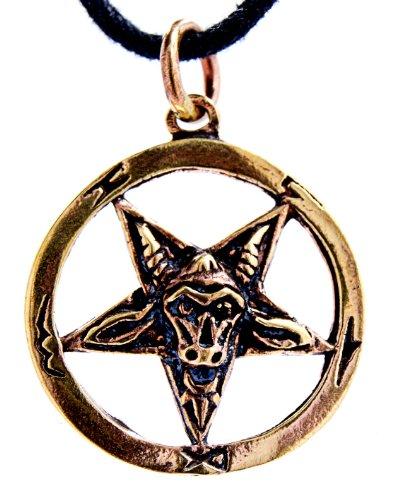 Ciondolo a pentacolo, in bronzo n. 29