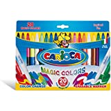 Carioca Magic Pens - Color Change, Erasable 20 Markers - Made in Italy