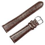 Lizard Grain Watchband Brown 18mm Short Watch band – by deBeer