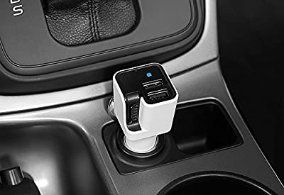 Ionic Car Air Purifier and Dual USB Charger