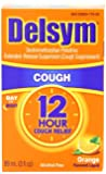 Delsym. Cough Suppressant - Orange Flavor: 3 OZ