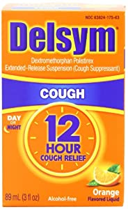 Delsym. Cough Suppressant - Orange Flavor: 3 OZ