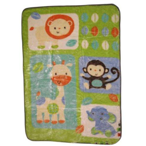 Taggies Luxury Plush Blanket, Fun In The Jungle front-821162