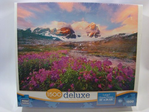 Mega Deluxe 1500 Piece Jigsaw Puzzle: Mountain Paradise - 1