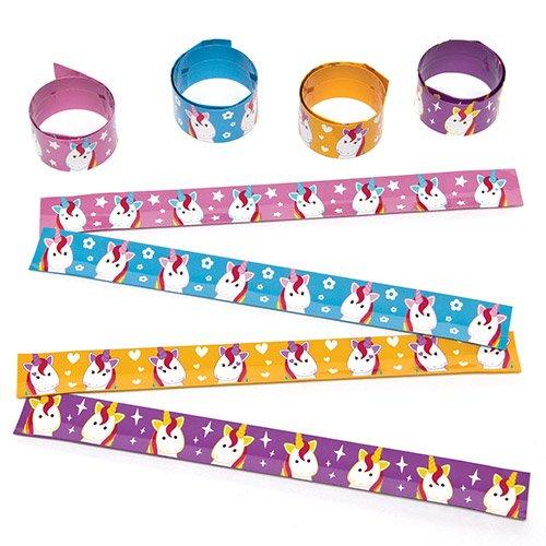 Bracelets-Licornes-Arc-en-ciel--Claquer-Jeu-pour-Enfant-Parfait-pour-les-Pochettes-surprises-Lot-de-4