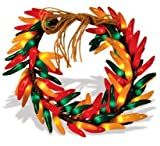 16 Inch Chili Pepper Wreath