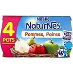 Nestl� B�b� Naturnes Pommes Poires -...