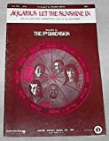 img - for Aquarius/Let the Sunshine In Recorded by The Fifth Dimension Sheet Music with Choral Arrangement (Vocal, Piano, optional Guitars) book / textbook / text book