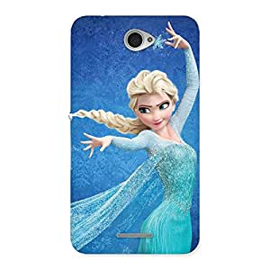 Cute Angel And Cutness Back Case Cover for Sony Xperia E4