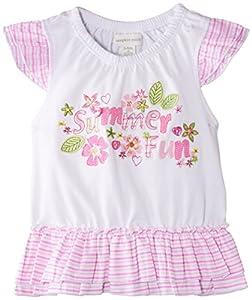 Pumpkin Patch Ruffle Top - Camiseta para bebés