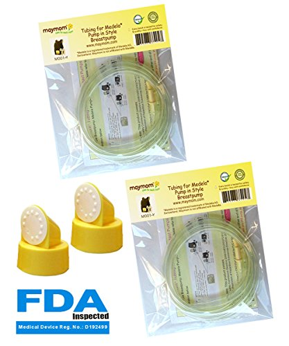 pump-in-style-tubing-two-packs-4-tubes-and-2-valves-and-2-membranes-for-medela-pump-in-style-advance