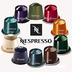 Nespresso 100 Pods Mixed Coffee Capsule
