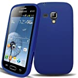 Accessory Master Silicone Gel Case for Samsung Galaxy Duos S7562 Blue