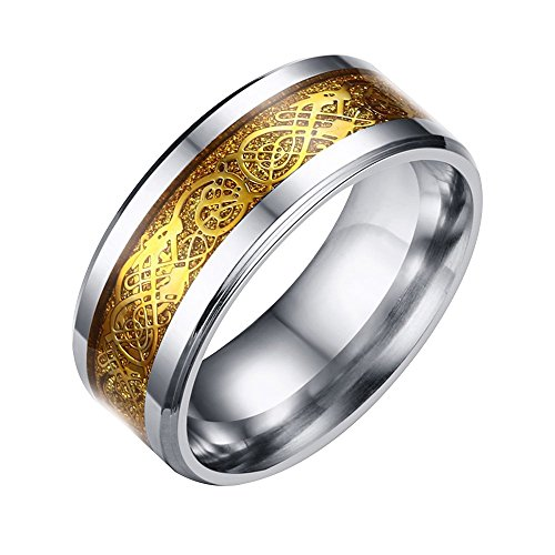conteverr-stainless-steel-dragon-pattern-beveled-edges-celtic-rings-band-jewelry-comfort-fit-men-for