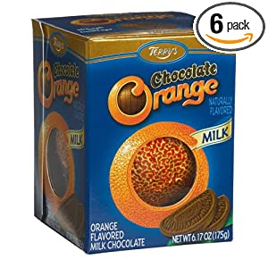 Terry's Milk Chocolate Orange Ball, 6.17-Ounce Boxes (Pack of 6) $13.14