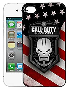 Enlinea Printed 2D Designer Hard Back Case For Apple iPhone 4S -10184