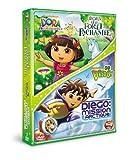 echange, troc Dora l'exploratrice - Dora et la forêt enchantée + Go Diego! - Diego : mission Arctique