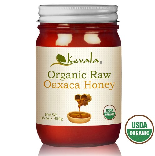 Kevala Organic Raw Oaxaca Honey 16oz