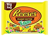 Reeses Easter Peanut Butter Eggs Snack Size Bag, 16.90 Ounce