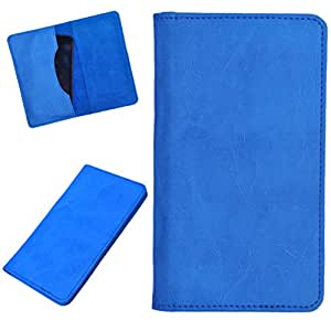 DCR Pu Leather case cover for Huawei Honor 7 (sky blue)