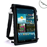 USA Gear FlexARMOR X Large Tablet Carrying Case Travel Bag w/ Capacitive Screen Protector - Will fit Samsung TabPRO 10.1 , TabPRO 8.4 , Nexus 10 , Galaxy Tab 3 / 2 ( 10.1 Inch ) , ATIV Tab , Note 10.1 & More Tablets up to 11 Inches!