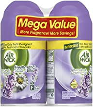 Air Wick Freshmatic Automatic Spray Air Freshener, Lavender and Chamomile, 2 Refills, 6.17 Ounce