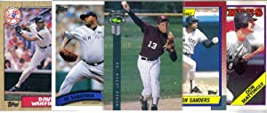 NEW YORK YANKEES Baseball Card Team Lot - 250 Assorted Cards by Topps