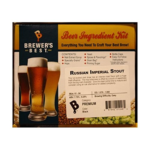 Russian Imperial Stout Homebrew Beer Ingredient Kit