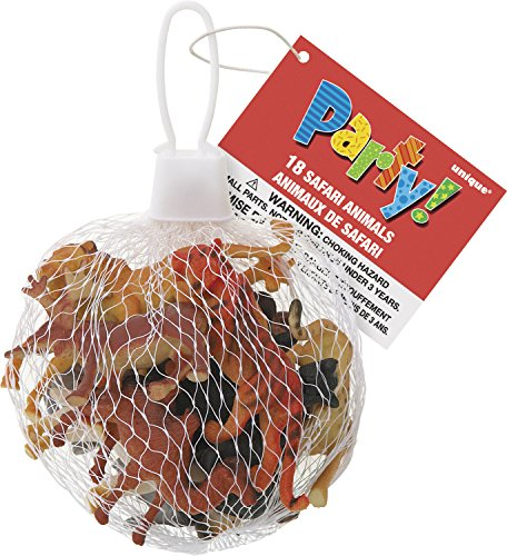 Safari Animal Party Favors, 18ct