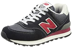 New Balance ML574 D (13H) 313841-60, Herren Sneaker, Blau-Rot (VDB BLUE-RED), EU 42 (US 8.5)