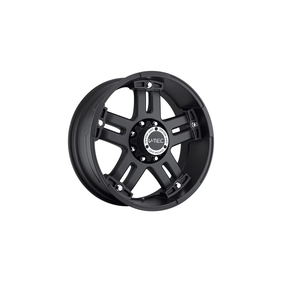 V Tec Warlord 20 Matte Black Wheel / Rim 5x5.5 with a 18mm Offset and a 108 Hub Bore. Partnumber 394 2985MB18