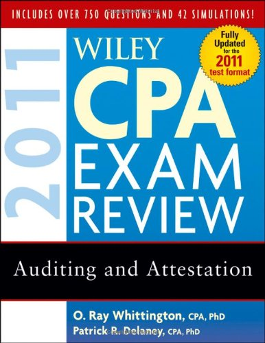 Wiley CPA Exam Review 2011, Auditing and Attestation...