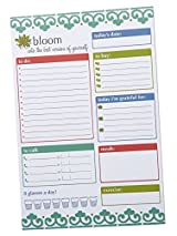 Planning System Tear Off To Do Pad - Teal Daily Planner To Do Pad by bloom daily planners