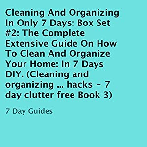 Cleaning And Organizing In Only 7 Days Box