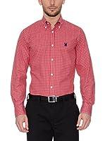 POLO CLUB CAPTAIN HORSE ACADEMY Camisa Hombre Checks (Rojo)