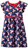 Tea Collection Girls 2-6X Baobab Blossom Wrap-Neck Dress