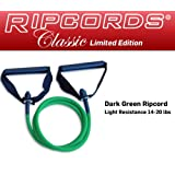 Ripcords Classic - Dark Green Ripcord (Medium Resistance 14 - 20 lbs)by Ripcords