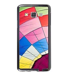 Vizagbeats Multi Color Web Back Case Cover for SAMSUNG GALAXY A3 2016 EDITION