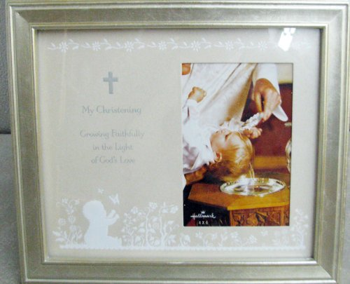 Hallmark Baby FRG7064 My Christening 4 X 6 Photo Frame