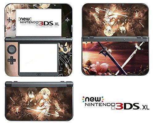 vanknight-vinyl-decals-skin-sticker-anime-sword-art-online-kirito-sao-for-the-new-nintendo-3ds-xl-20