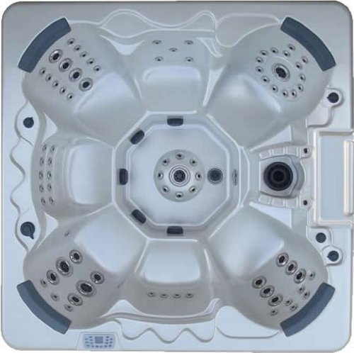 Home And Garden Spas 7-Person 104-Jet Hot Tub With Mp3 Auxiliary Output