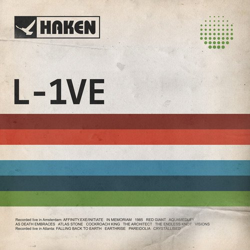CD : Haken - L-1ve (With DVD, Digipack Packaging)