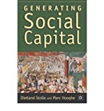 img - for [ GENERATING SOCIAL CAPITAL: CIVIL SOCIETY AND INSTITUTIONS IN COMPARATIVE PERSPECTIVE ] By Stolle, Dietlind ( Author) 2003 [ Paperback ] book / textbook / text book