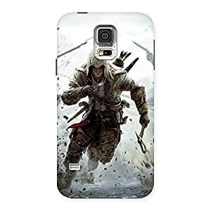 Special Assasi Multicolor Back Case Cover for Samsung Galaxy S5