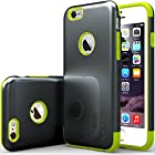 iPhone 6 Case, Caseology [Dual Layer] Apple iPhone 6 (4.7 inch) Case [Charcoal Black / Lime Green] Premium Slim Fit Impact Resistant Protective Armor Rugged Hard iPhone 6 Case [Made in Korea] (for Apple iPhone 6 Verizon, AT&T Sprint, T-mobile, Unlocked)