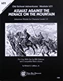 img - for Assault Against the Menace on the Mountain (Adventure Module LC1) book / textbook / text book